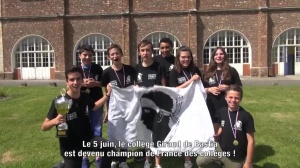 N°18 - Giraud champion de France des collèges !