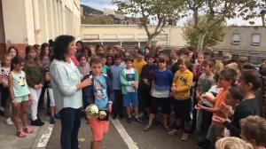 L'accueil triomphal du champion d'Europe dans son école de Toga !