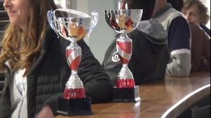 Cérémonie en l'honneur des deux championnes du Fium'orbu à la mairie de Ghisonaccia