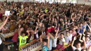 A festa di i scacchi in Bastia