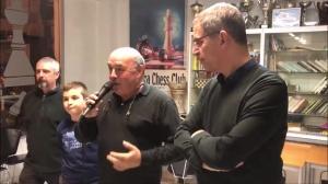 Marc'Andria Maurizzi festighjatu à a Casa di i scacchi