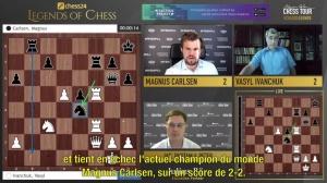 """N°23 le """"Legends of Chess"""" remporté pa...r l'actuel champion du monde !"""