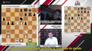 N°26 St Louis Rapid-Blitz, Carlsen et So co-vainqueurs