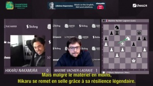N°2 Wesley So remporter la 1ere étape du Champion Chess Tour 2021
