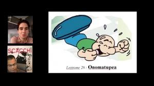 Vintottesima lezzione : Onomatupea !