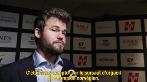 N°3 Nouvelle victoire de Magnus Carlsen au Norway Chess